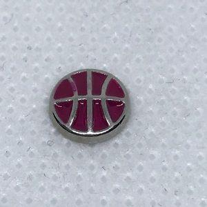Jewelry - Pink Basketball Charm